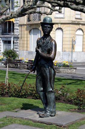 Monument Charlie Chaplin