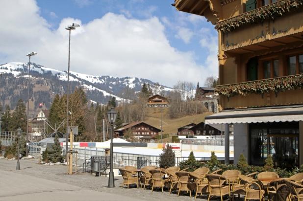 Gstaad in Switzerland - world famous ski resort