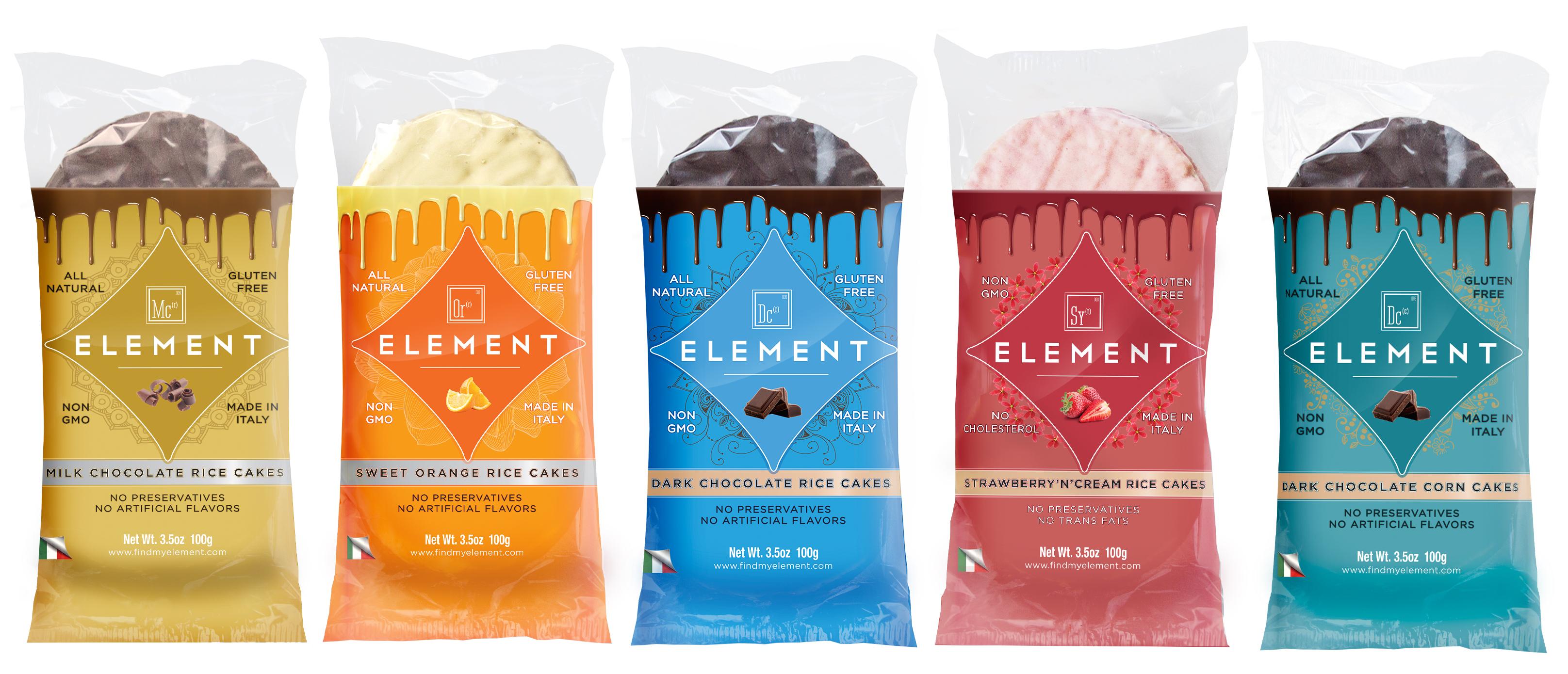 Element Orange Cream Rice Cakes