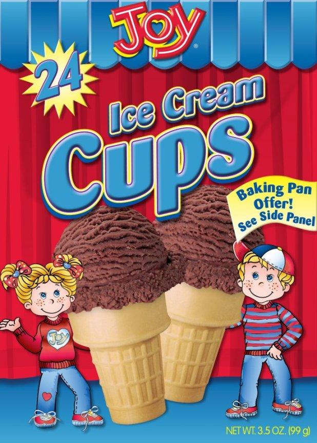Joy Cake Cup Cones