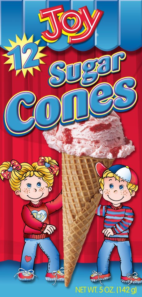 amazoncom joy cone 24count ice cream cups 35oz 2 pack - 459×960