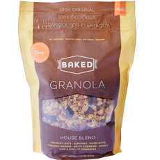 house blend Baked Granola