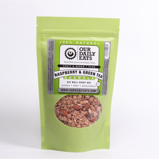 Our Daily Eats Raspberry Green Tea Granola
