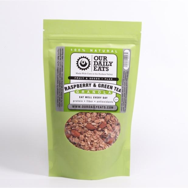Our Daily Eats Raspberry Green Tea Granola