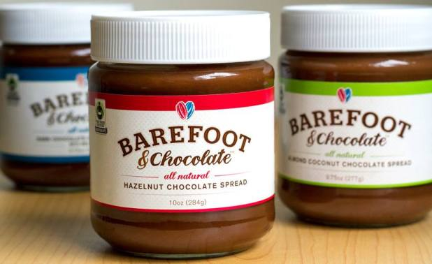 Barefoot and Chocolate Spreads