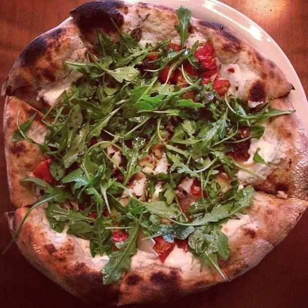 Biancoverde Pizza at Christopher's Kitchen