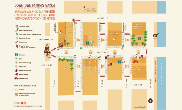DesMoines_Farmers Market_Map