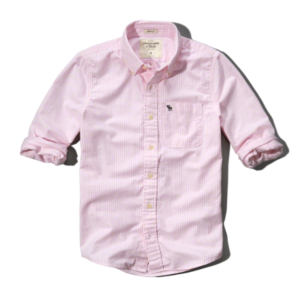 Abercrombie_Oxford_Pink