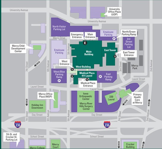 Mercy Hospital Campus Map.Mcdonald S And The Mercy Medical Center Paddock Post