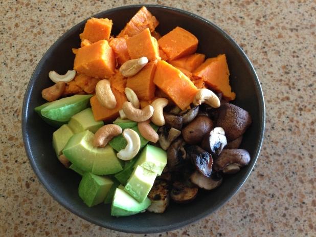 Sweet_Potato_Tofu_and_Mushroom_ Bowl