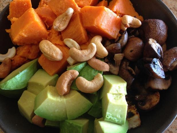 Sweet_Potato_Mushroom_and _Tofu_Bowl