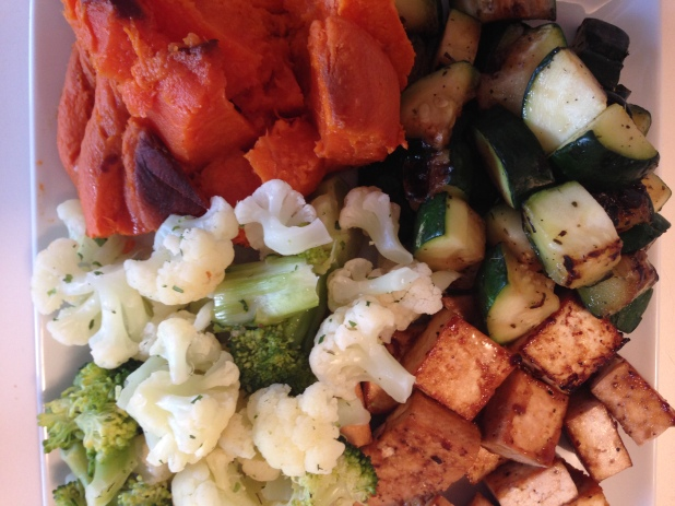 Vegetable_Plate_with Tofu