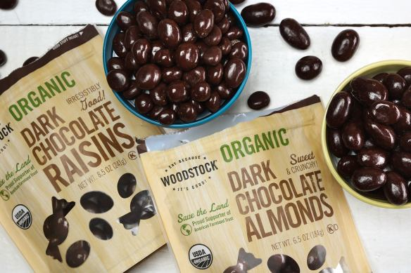 Woodstock Organic Dark Chocolate Raisins