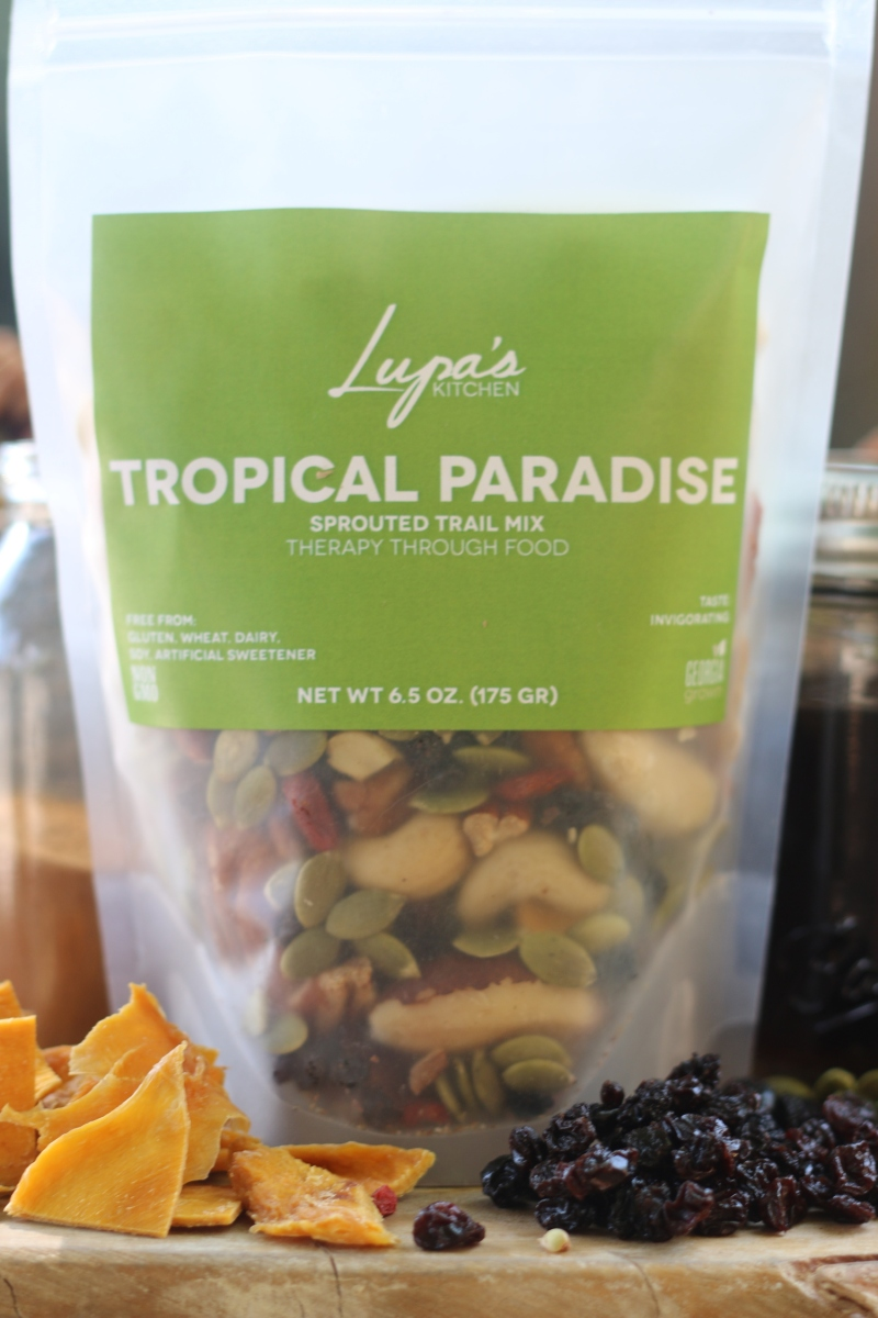 Lupa's Tropical Paradise Sprouted Trail Mix